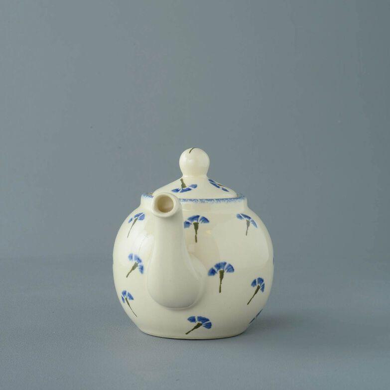 Teapot 2 Cup Cornflower