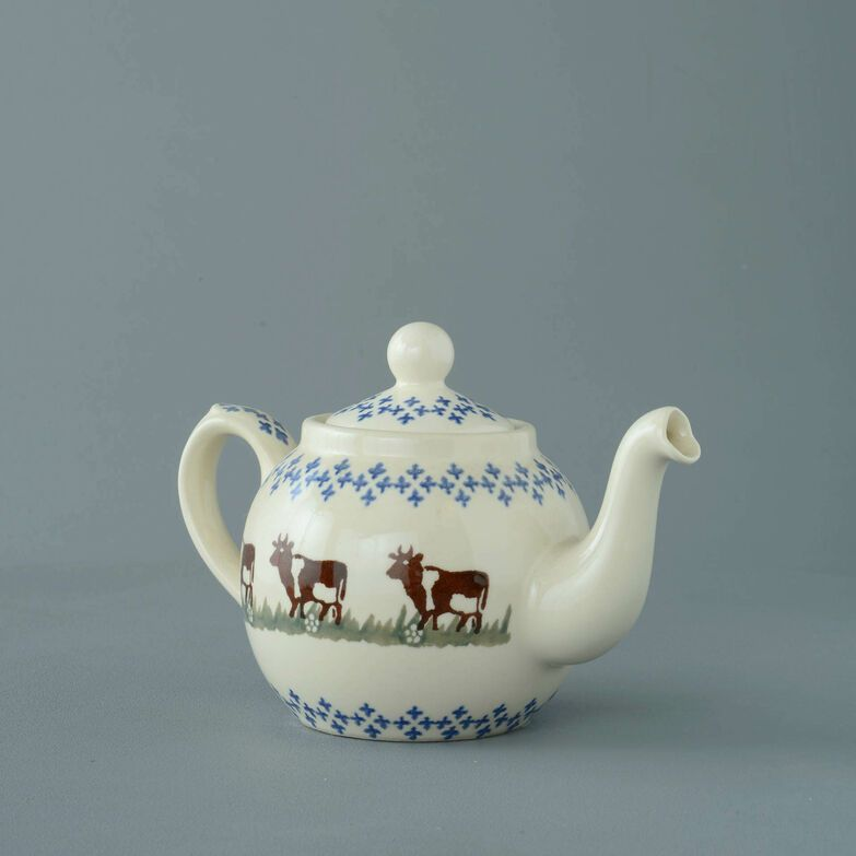 Teapot 2 Cup Cow