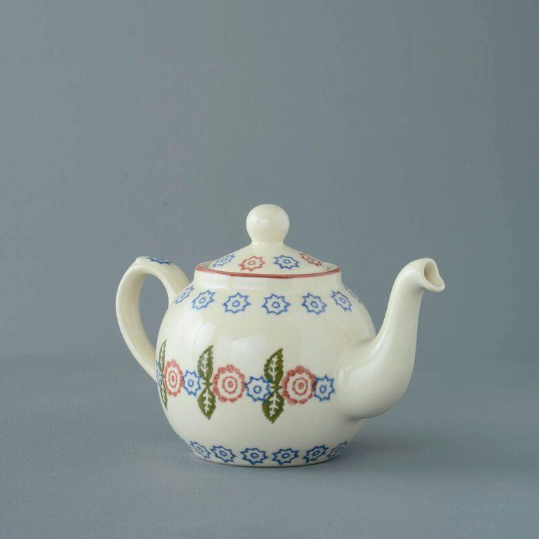 Teapot 2 Cup Victorian Floral