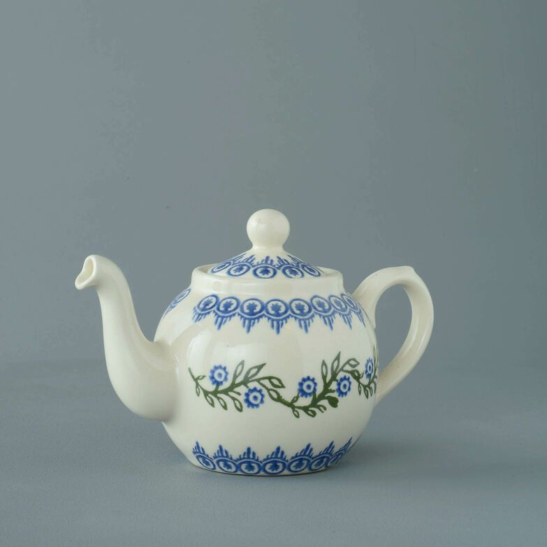 Teapot 2 Cup Floral Garland