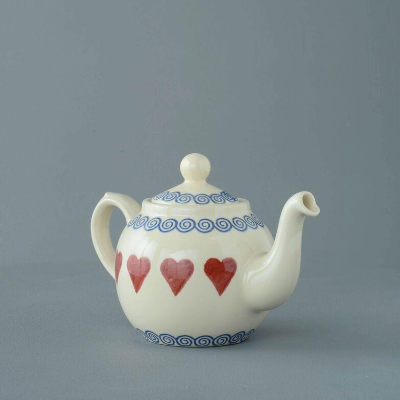 Teapot 2 Cup Heart