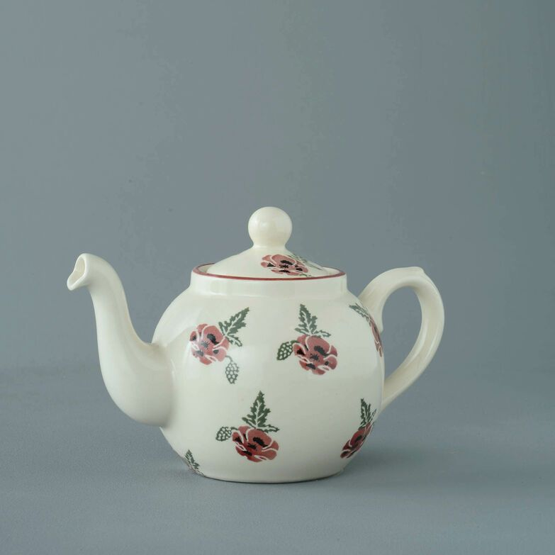 Teapot 2 Cup Poppy