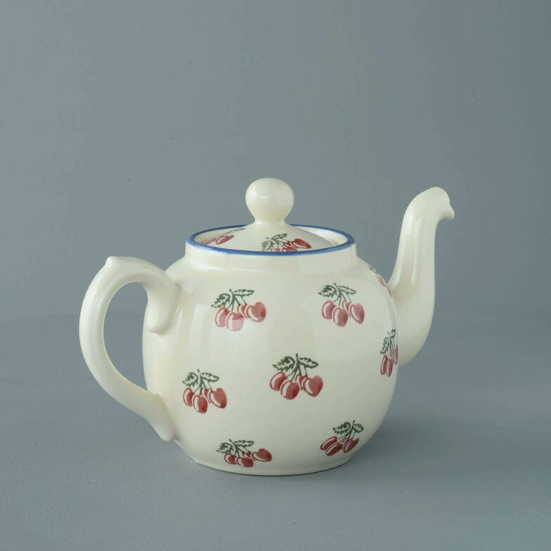 Teapot 4 Cup Cherry