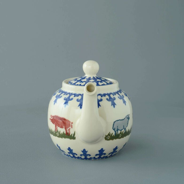 Teapot 4 Cup Farm Animal