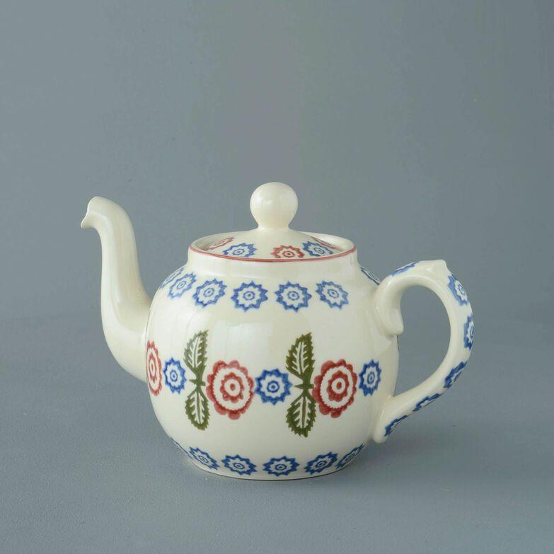 Teapot 4 Cup Victorian Floral