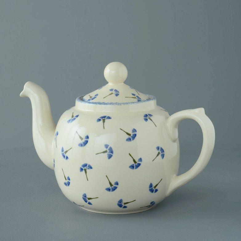 Teapot 10 Cup Cornflower
