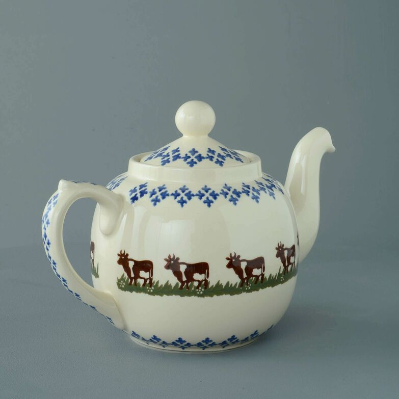 Teapot 10 Cup Cow