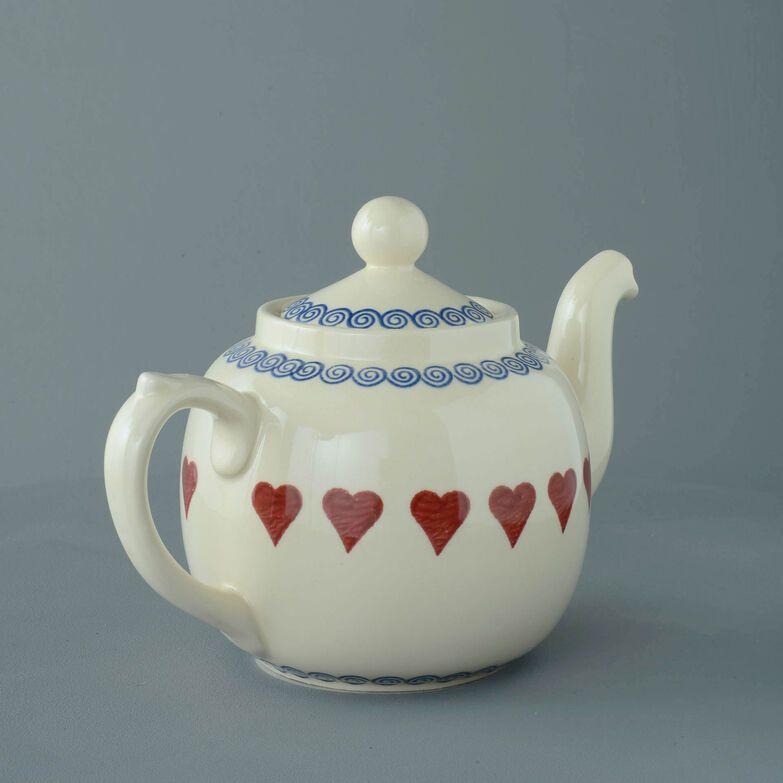 Teapot 10 Cup Heart