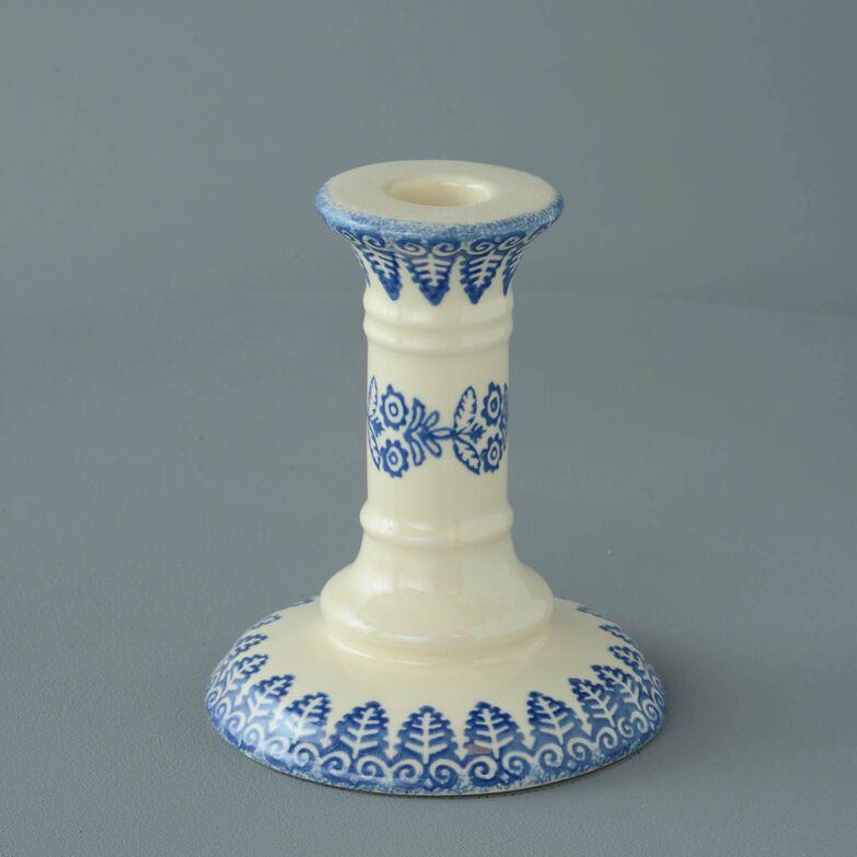 Candlestick Medium Lacey Blue