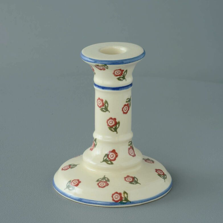 Candlestick Medium Scattered Rose