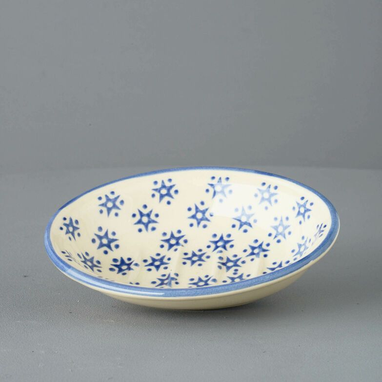 Soap dish oval Small Snowflake