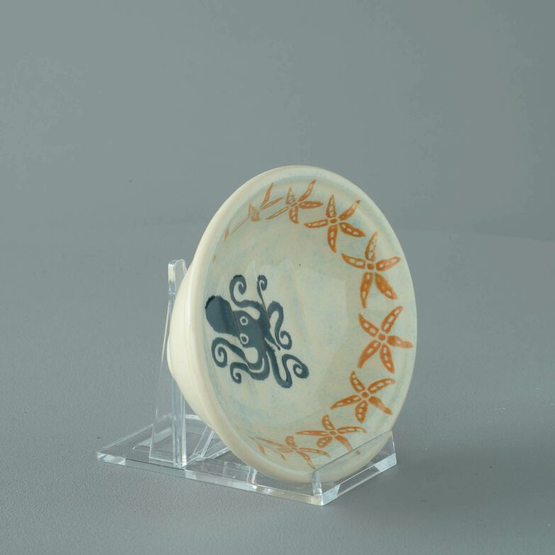 Soap dish oval Small Squid and starfish