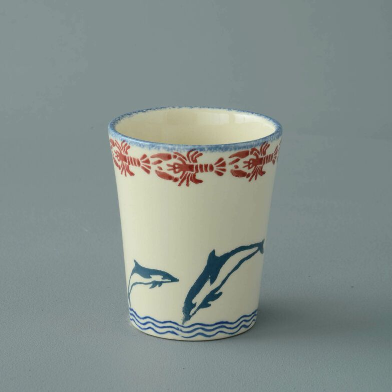 Bathroom Beaker Small Dolphin Leaping