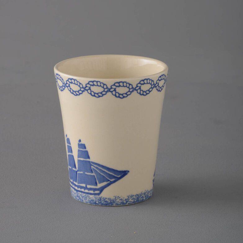 Bathroom Beaker Small Ship - Square Rig