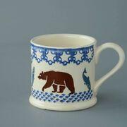 Mug Large Bear and Fish
