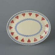 Oval Plate  Heart